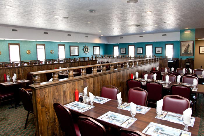 Welcome to lord elgin fish chips for Dining room operations